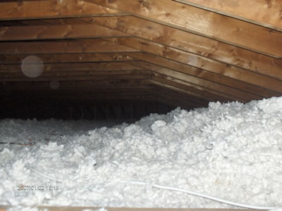 Loose-Fill Fiberglass Wool or Cellulose. Loose-fill attic insulation ... : type of insulation for attic  - Aeropaca.Org