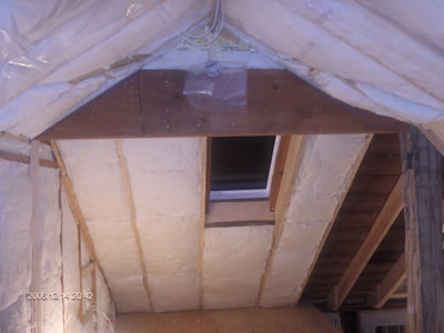 Skylight in Loft